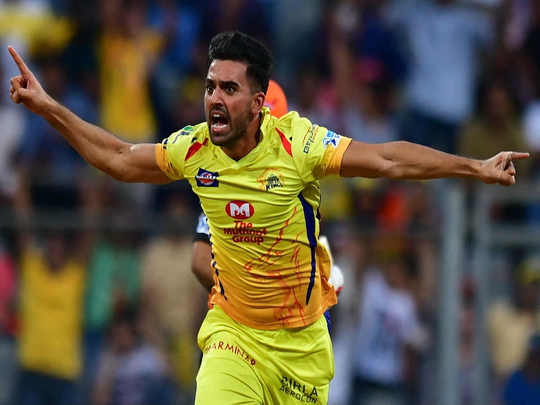 Deepak Chahar IPL chennai super kings 2019