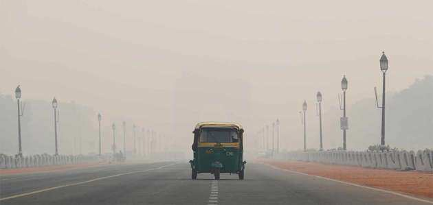 दिल्ली में फिर बिगड़ी हवा की गुणवत्ता