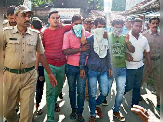 12 persons sentenced jail till death for killing two by lynching