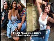 कॉलेज प्ले में दिखीं सुहाना खान, फोटो हो रहा वायरल