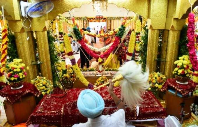 சென்னையில் குரு நானக் பிறந்த நாள்