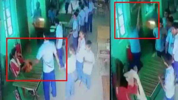 school students attack up child welfare official in raebareli