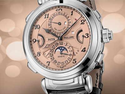 दुनिया की सबसे महंगी घड़ी 222 करोड़ रुपये की है (फोटो क्रेडिट: Patek Philippe)