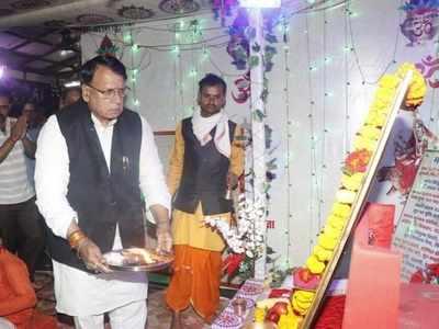 अध्यात्म विभाग के मंत्री पीसी शर्मा