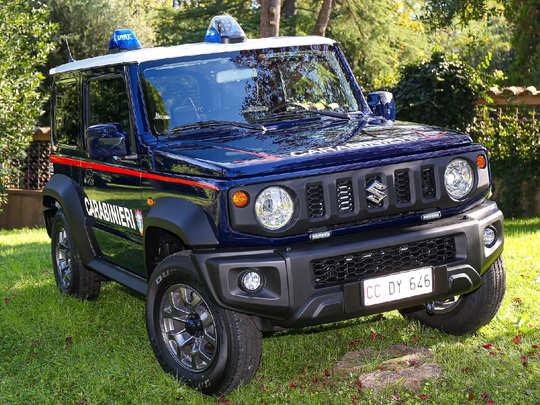 Italian Police Suzuki Jimny