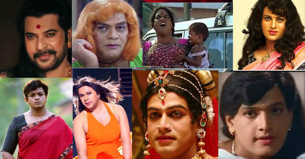 malayalam actors who appeared onscreen feminine look