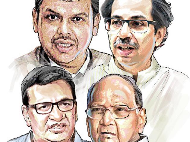 महाराष्ट्र में जारी है राजनीतिक संकट