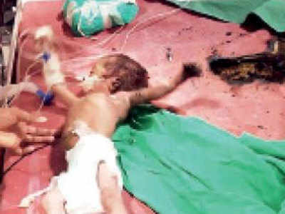 पीड़ित बच्चा प्रिंस (फाइल फोटो)