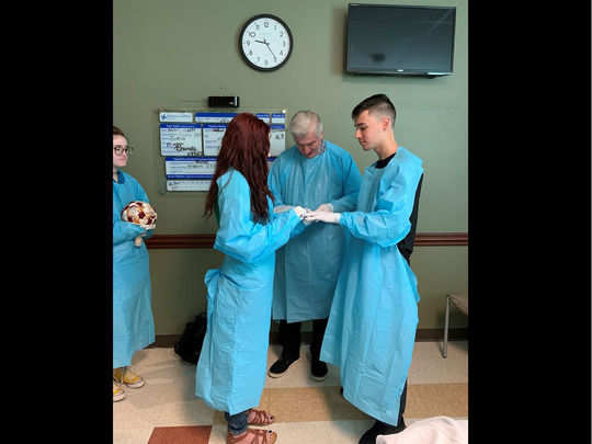 marriage in hospital