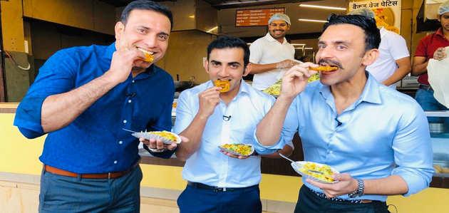 इंदौर में जलेबियां खाने के बाद सोशल मीडिया पर छाए गौतम गंभीर