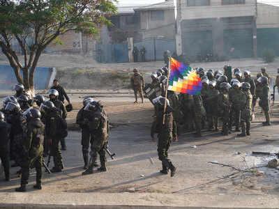 बोलिविया में राजनीतिक संकट जारी