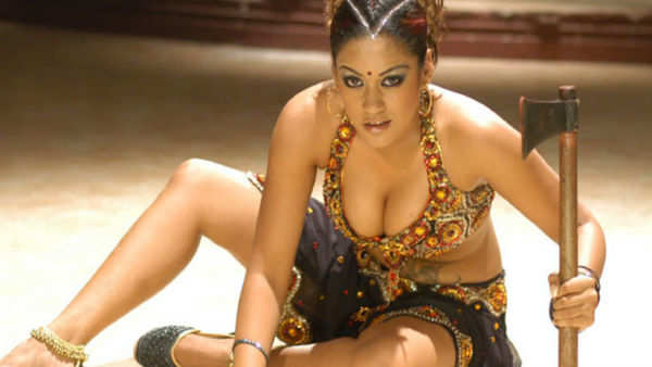 farmer uses actress mumaith khan poster in his farm video goes viral