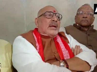 गिरिराज सिंह ने दिए राजनीति से अलग होने के संकेत