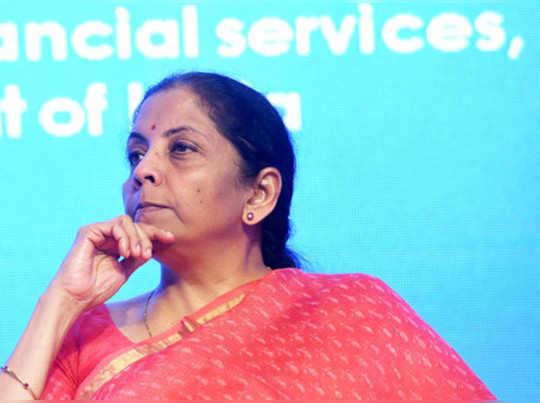 New Delhi: Finance Minister Nirmala Sitharaman during the 6th world congress on ...