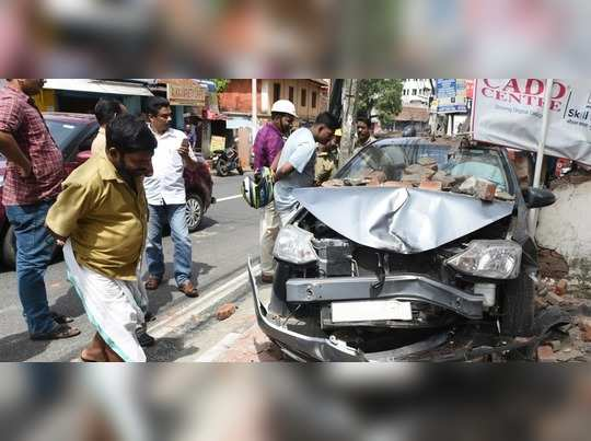 Accident in Kerala