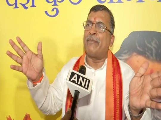 वीएचपी नेता मिलिंद परांदे ने मुस्लिम पक्ष को दी सलाह