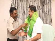 vck president thirumavalavan demand to cm for chennai corporation should announce a reserve mayor posting in local body election