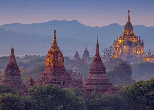 बागान के मंदिर, म्यांमार