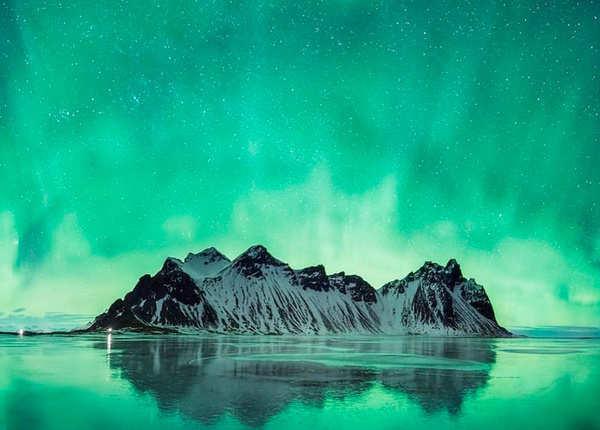 नॉर्दन लाइट्स, आइसलैंड