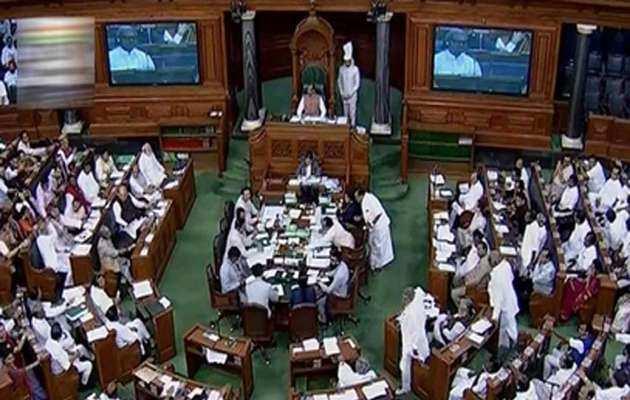 शीतकालीन सत्र के पहले दिन संसद में हुआ हंगामा
