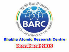 bhabha atomic research centre invites applications for the recruitment of various posts apply now