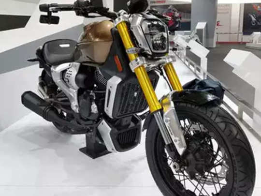 TVS Motors bike Zeppelin