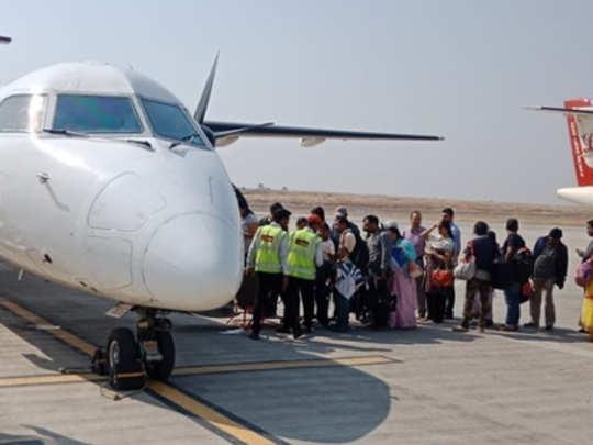 shirdi-flight service disturb