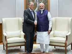 pm narendra modi met bill gates on monday november 19th in delhi