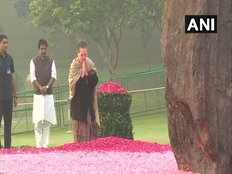 leaders tribute to former prime minister indira gandhi on birth anniversary