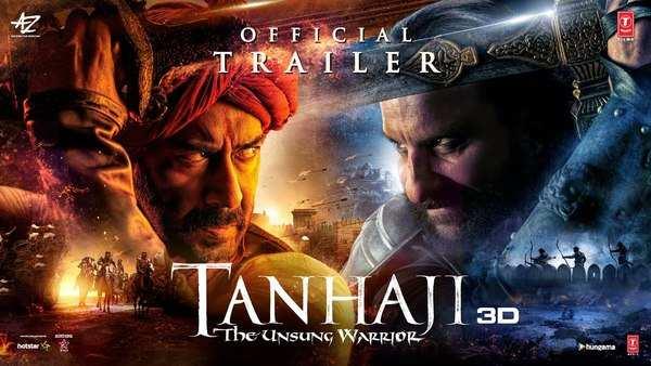 tanhaji the unsung warrior official trailer