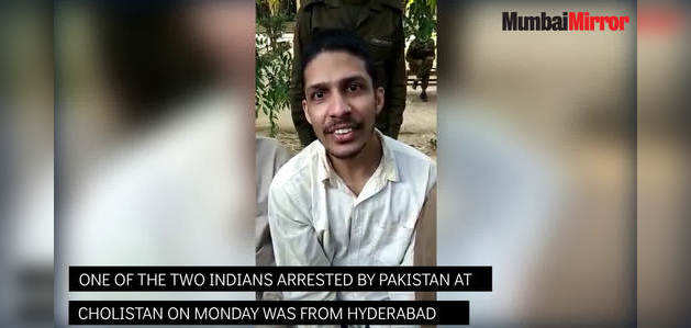 Hyderabad youth Prasanth who is currently being held by Pakistan cops, says he was in desperate search of estranged lover