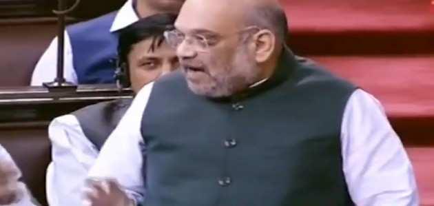 संसद में गृह मंत्री अमित शाह का बयान-'कश्मीर में सब ठीक'