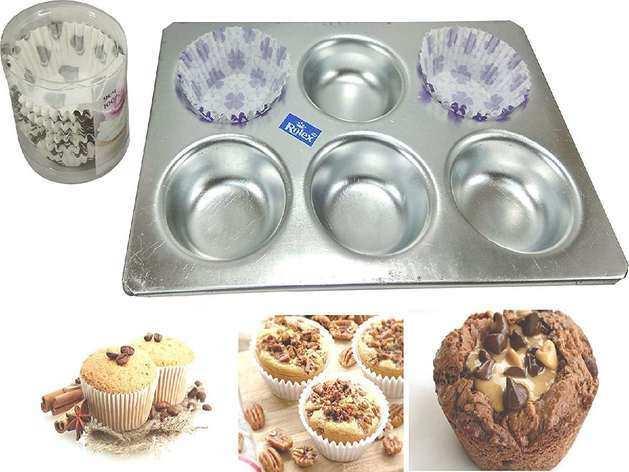 अब बेक करना होगा और भी आसान , Amazon से खरीदें ये Cake And Muffin Moulds