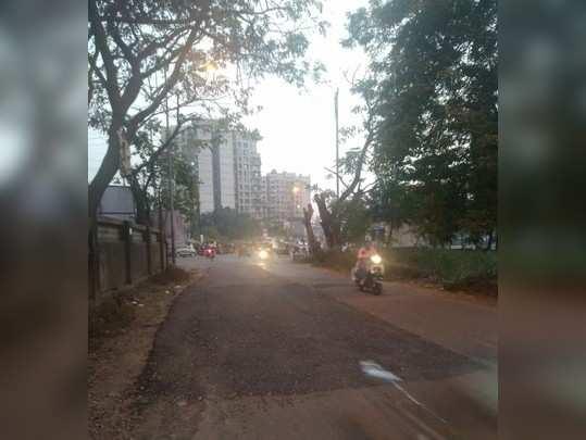 रस्त्याची दुरुस्ती
