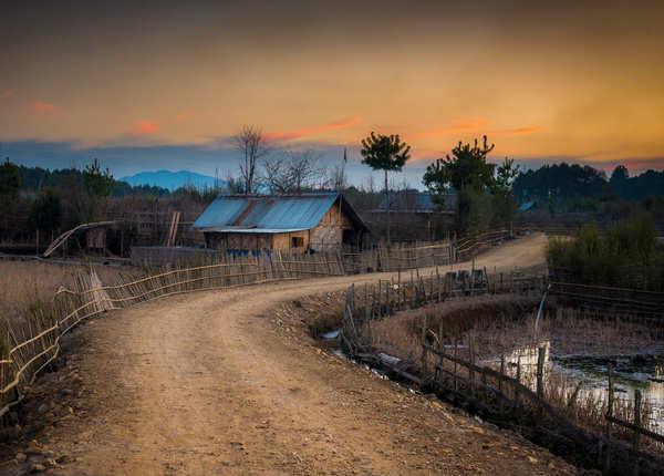 जीरो वैली की शाम