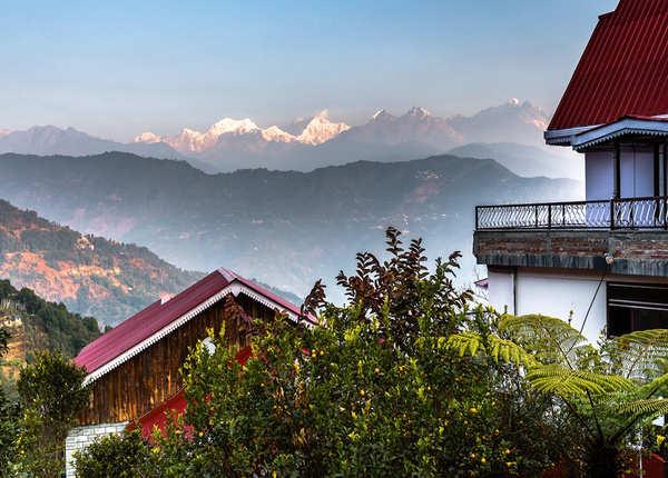 सिक्किम में कंचनजंगा