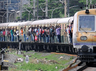 masked robbers loot train passengers in chennai