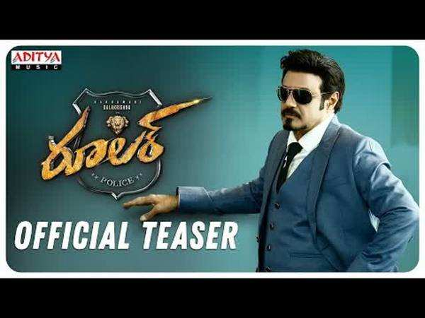 nandamuri balakrishna ruler official teaser