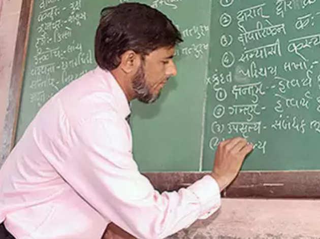 22 साल से संस्कृत पढ़ा रहे हैं आबिद सैयद