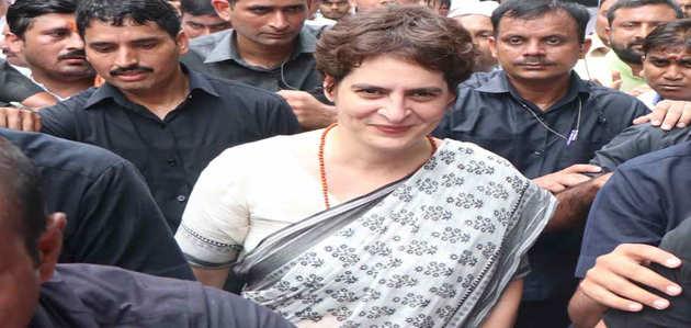 प्रियंका गांधी ने एसपीजी हटाने पर कहा- 'राजनीति है, होती रहती है'