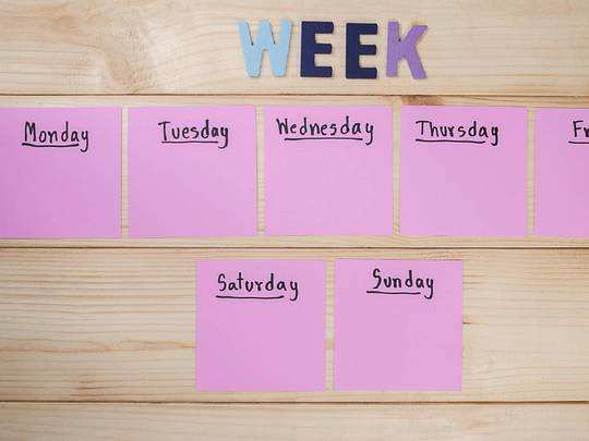 Days in a week