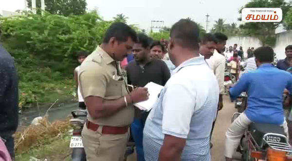 coimbatore born baby in drainage video footage police took the body
