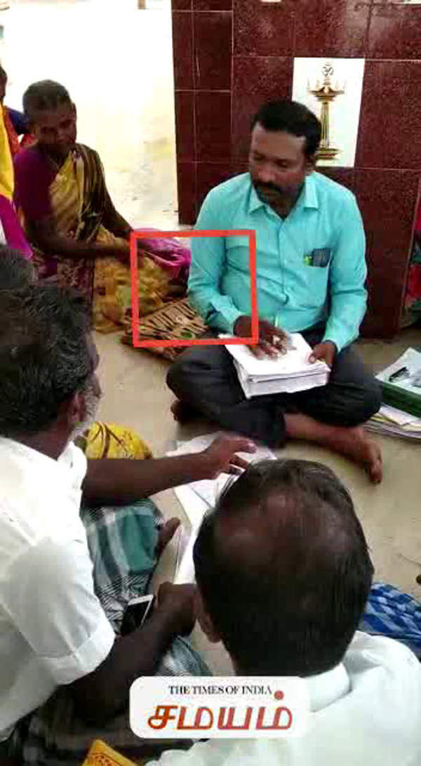 vao got braibe from farmers in ramanathapuram district video leaked