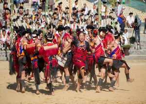 the traditional festival of nagaland the hornbill festival celebrated every year in decemberis visited by people all over the world