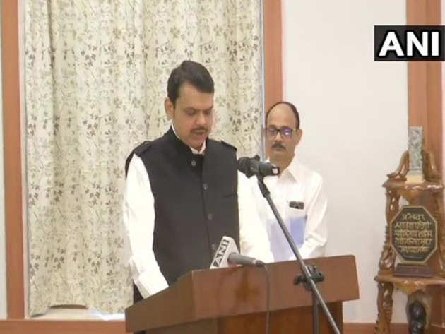 फडणवीस फिर बने महाराष्ट्र के सीएम