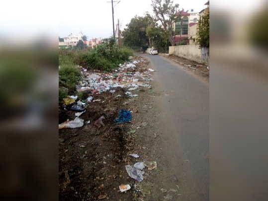 कचऱ्याच्या ढीगाने नागरिक त्रस्त