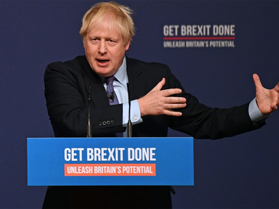 ब्रिटेन चुनावः बोरिस जॉनसन ने घोषणापत्र में ब्रेग्जिट का किया वादा