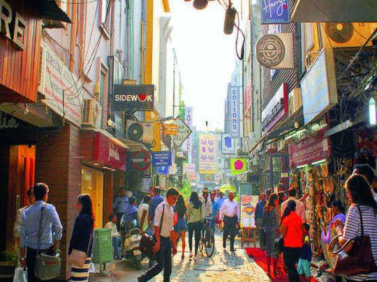 Khan Market.