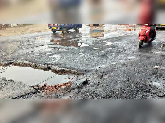 Kolkata: poor condition of Hide road