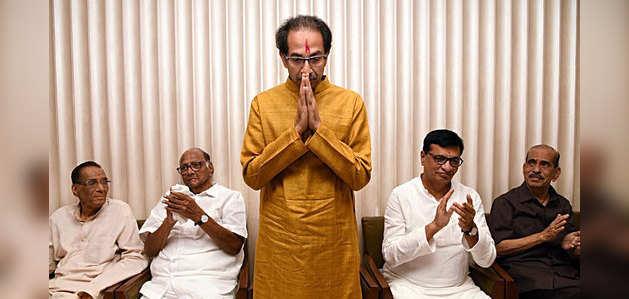 महाराष्ट्र: उद्धव ठाकरे चुने गए महा विकास अघाड़ी के नेता